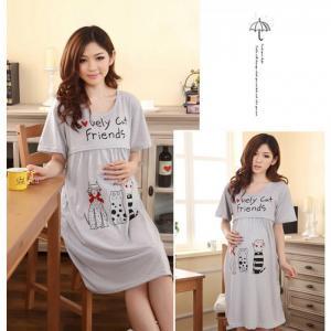 Váy Bầu Kết Hợp Cho Con Bú NX915