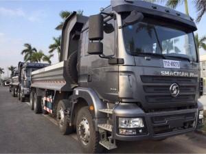 Các bác tài ở Tiền Giang đang mê mẩn xe ben shacman 2017