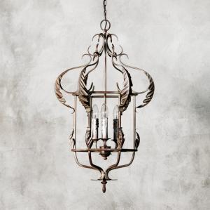 Đèn chùm sắt xuất khẩu một nét đép cổ điển