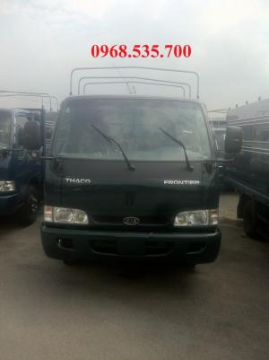 Bán xe Thaco K165S mui bạt bửng, giao hàng ngay