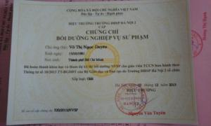 Địa chỉ học nghiệp vụ sư phạm tại Hồ Chí Minh