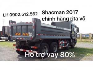 Xe ben shacman 4 chân giá bao nhiêu