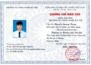 Học hướng dẫn viên tại Đà Nẵng