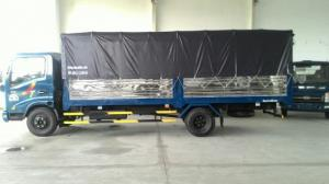Xe veam vt260 tải 2tan thùng kín dài 6m