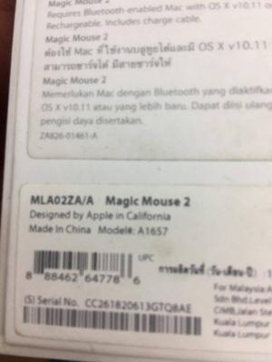 Chuột Magic Mouse 2 Mới mua được hơn tháng