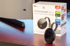 Thiết bị Google Chromecast Ultra - Black