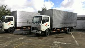Xe veam 3T5 vt350 thùng kín giá ưu đãi