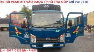 Xe Tải veam 2t4/ xe tải 2t4 máy huyndai/ xe...