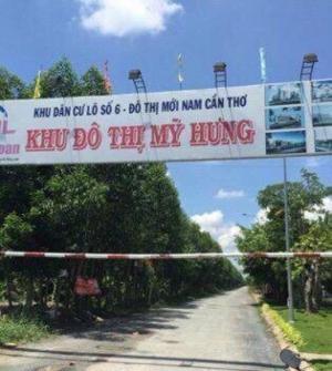 Cần Thơ: Bán nền khu dân cư Hồng Loan