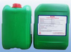 Dung dịch biến đổi gỉ B05 - Không ăn mòn cốt thép. Không ảnh hưởng tới lực bám dính giữa cốt thép và bê tông