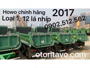 Xe ben howo 2017 cập bến cảng vũng tàu