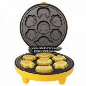 Máy Nướng Bánh Hình Thú (Vàng) Hàng Chính Hãng