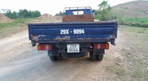 Xe tải 1,49t , màu xanh, đời 2005