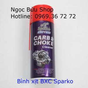 Sparko Carb - Choke Cleaner Bình xịt vệ sinh...