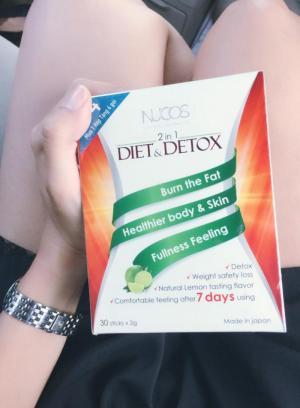 Nucos Diet Detox giá rẻ nhất 335k giảm cân và thải độc trong 7 ngày