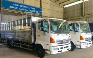 xe tải hino FC9JLSW thùng mui bạt