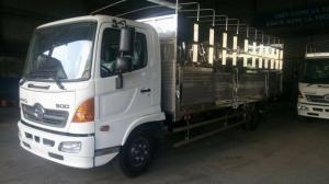 xe tải Hino FC9JTSW  tải trọng 6,4 Tấn thùng dài 6m7