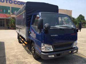 Bán xe tải iz49 2T4 tấn isuzu, đô thành isuzu iz49 2T4 thùng mui bạt