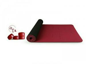 Thảm tập yoga Hatha có định tuyến chống trượt...