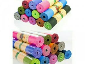 Thảm tập yoga 2 lớp giá rẻ chống trượt cao cấp tặng bọc đựng thảm