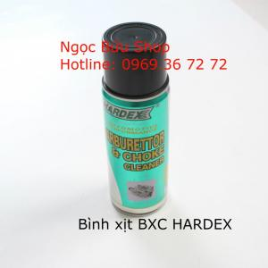 HARDEX- Carburetor-Choke Cleaner Bình xịt vệ sinh bình xăng con