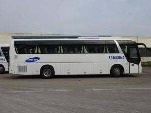 Xe khách động cơ Yuchai nhập khẩu, Xe Daewoo 47 ghế mới nhất 2017