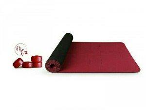 Thảm tập yoga có định tuyến