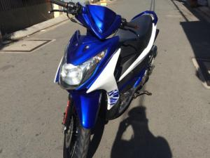 Suzuki hayate ss fi, phun xăng điện tử,màu xanh trắng