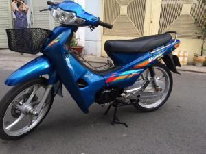 Honda Wave (A)alpha LD,màu xanh thay nhiều đồ xịn