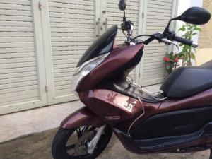Honda pcx fi màu nâu, zin nguyên thủy, ngay...