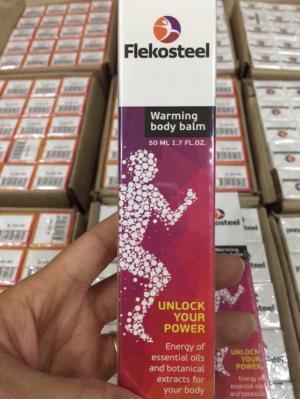 Flekosteel điều trị bệnh thoái hóa đĩa đệm,...