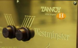 Bán Loa Tannoy Westminster RW đẹp xuất sắc rất hiếm