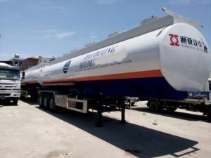 Sơ mi rơ mooc xitec chở xăng dầu nhãn hiệu Tongyada, rơ mooc xitec