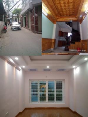 Nhà mặt phố đường Hoàng Mai 35m2 x 5T kinh...