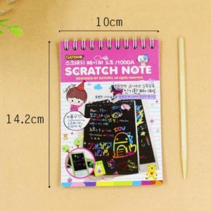 Mới! Sổ tay ma thuật - Scratch paper Note