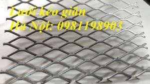 Lưới thép hình thoi, lưới kéo giãn, hàng có sẵn, giá tốt tại Hà Nội