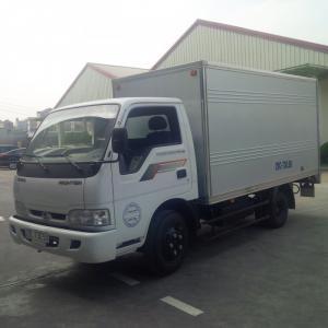Xe tải thùng kín 1 tấn 4 chạy phố