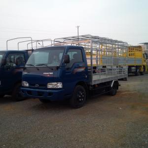Xe tải chở gia cầm 2 tấn 2 THACO KIA, xe tải K165 đóng thùng chở gà, vịt...
