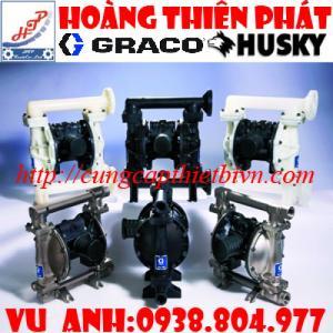 Đại Lý Bơm màng khí nén Husky Graco  tại Việt Nam