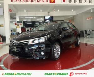Toyota Corolla Altis 1.8V, Số Tự Động,  Màu Đen, Khuyến Mãi Đến 60 triệu, Giao ngay