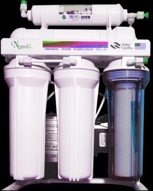 Máy lọc nước F 504 gồm 5 cấp lọc