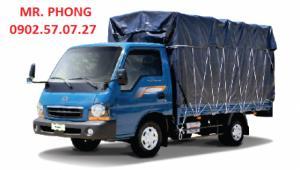 Xe KIA K190 tải trọng 1 tấn 9 tại Tây Ninh, xe được nâng tải từ KIA K2700 hay Frontier125
