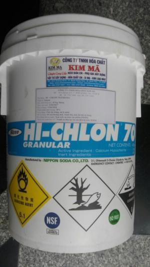 Chlorine 70 – Calcium Hypochloride