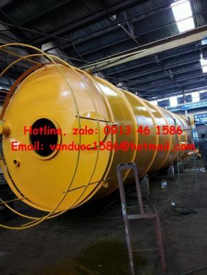 Silo xi măng 40 - 120 tấn