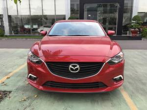 Mazda 6 2.0  2017 có nhiều màu đẹp , hỗ trợ vay 80% , giao xe liền và nhiều quà tặng theo xe giá trị