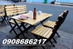 Ghế gỗ quán nhậu giá rẻ nhất