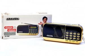 Loa nghe nhạc USB thẻ nhớ FM Craven CR-836 2 pin siêu trâu - MSN181196