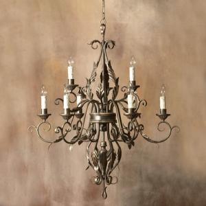 Đèn chùm trang trí cổ điển sang trọng, đẹp nhẹ nhàng