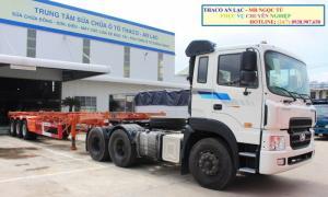 Chi tiết xe đầu kéo hyundai hd700 nhập khẩu...