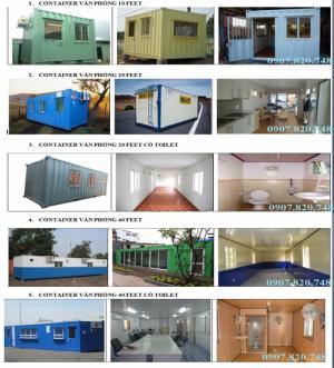 Cung Cấp Container Văn Phòng Quận 1 TPHCM Chi Phí Thấp
